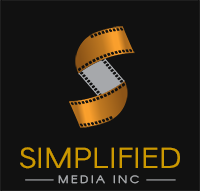 Simplified Media Inc. Logo Footer Area